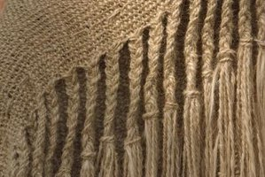Finish your weaving project with decorative braids or fringe.