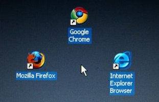 Mozilla Firefox, one of the three top Web browsing clients.