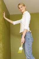 Masking tape should be put on tightly to prevent the paint from seeping.