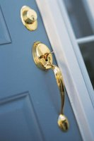 Most doorknobs contain spring latches.