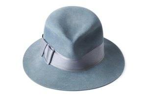 Any style of felt hat may be repurposed into a hillbilly hat.