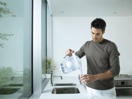 Many household water filters consist of activated carbon and effectively remove chlorine.