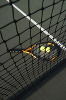 A properly fitted grip helps you to keep control of your racket.