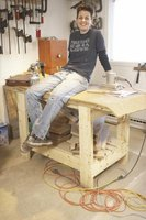 Make your own heavy-duty workbench.
