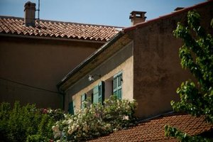 Clay roofs are one of the distinguishing features of Spanish style homes.