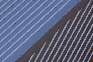 Metal roofs are often defined by their ridges and seams.