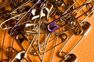 Safety pins are just one item you can use for your junk jewelry.