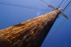 Electrical poles are unattractive necessities.