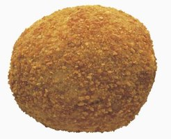 A spinoff of the boudin sausage, the boudin ball makes a crispy fried appetizer.