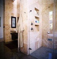 A mud pan gives you the design freedom to make an extraordinary shower.