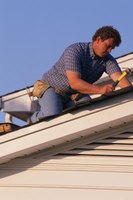 Installing a new roof can be time-consuming, but is a fairly simple operation.