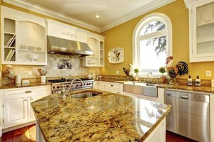 Granite comes in assorted patterns and colors.