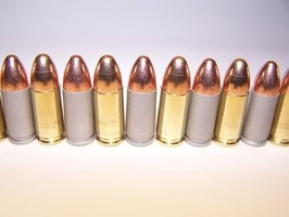 Steel-cased bullets provide a less expensive way to target practice.