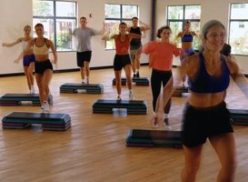 Step classes range from low to high intensity.