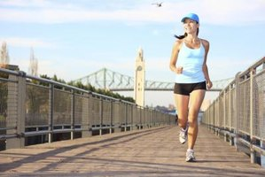 Running gives you an effective cardio workout.