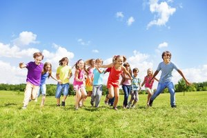Freeze Tag helps kids burn energy and have fun.