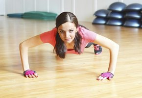 Teens should start their strength-training efforts with body-weight exercises, like pushups.