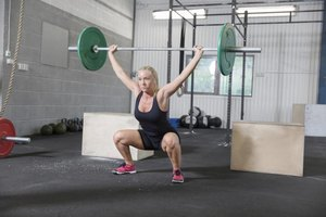 Proper squats are the foundation of many CrossFit exercises.