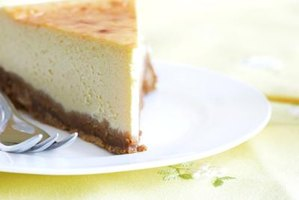 Cheesecake benefits from the slow, even cooking a water bath provides.
