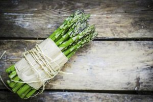 Fresh asparagus is best eaten raw or lightly steamed.