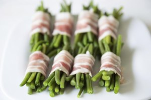 Bacon-wrapped bundles of green beans make elegant individual servings.