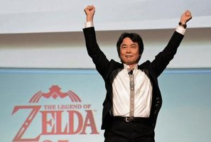 "Shigeru Miyamoto, creator of ""The Legend of Zelda."""