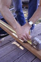 Rounded deck steps require careful measurement.