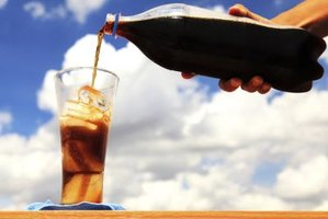 You can use any brand of cola to make a float.