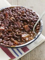 Molasses is what makes baked beans distinctive.