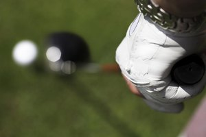 A strong grip may help reduce slicing the golf ball.
