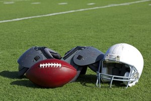 Football pads keep players on the field and off the injured list.
