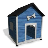 Make sure your doghouse is weatherproof before winter.