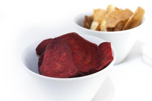 Like other root veggies, beets make sturdy chips.