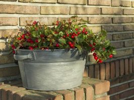 Decorate your deck, yard or inside your house with the distinctive look of old galvanized tubs.