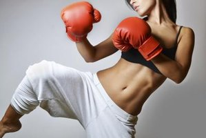 Kickboxing workouts can offer a nice change from standard cardio routines.