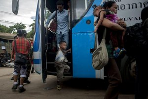 Practice good travel safety guidelines while using public transportation in Cambodia.