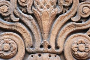 Stone carving often results in intricate, beautiful patterns on buildings.