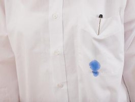 Don't let a Biro ink stain ruin your favorite dress shirt.