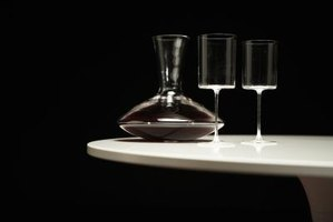 How to Clean Old Decanters