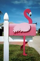 You can use a mailbox to express your personality.