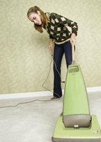 Weekly vacuuming can help to keep carpets fresh.