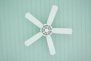 Ceiling fans require a secure mounting system.