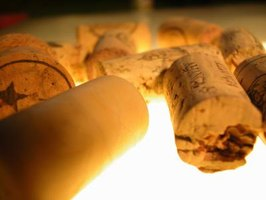 Corks can be cut lengthwise for use in crafts.