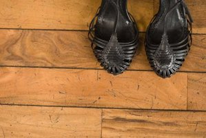 Wood floors can develop gaps at any age.