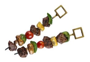 While souvlaki is usually grilled, you can make it in your oven.