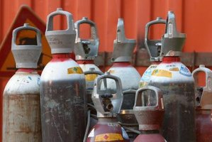 Oxygen tanks' pressure can make tanks with a damaged cap explode.