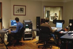 Pro Tools and other digital audio software replace magnetic tape with hard drives for recording.