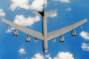 The B-52 Bomber is the longest-serving bomber in the U.S. military.