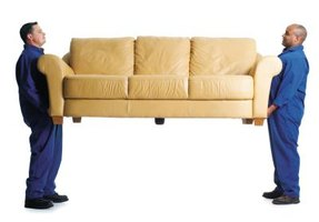 Easy Way to Lift a Couch