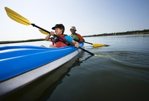 Choosing the right kayak for paddling conditions is critical.